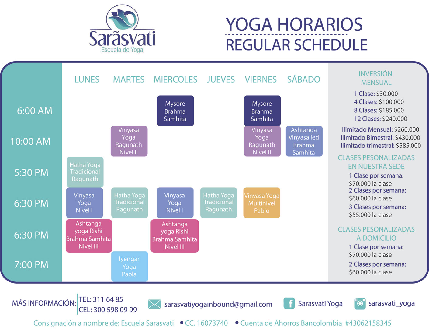 Horario_Sarasvati_Yoga